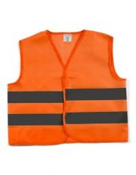 Sicherheitsweste einfach orange