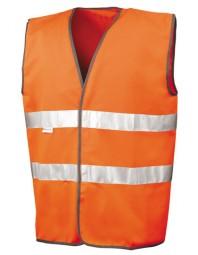 Sicherheitsweste Reflektionsmaterial von 3M Scotchlite orange
