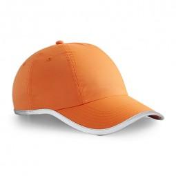 Cap mit 3M Reflektorstreifen orange