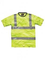 T-Shirt Work gelb